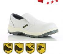 Witte Werkschoenen.Werkkleren