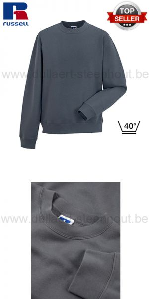 Russell - Grijze werksweater / werktrui R-262M-0 - Authentic Set-In Sweatshirt