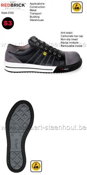 Dames Werkschoenen Redbrick.Werkkleren Schoenen