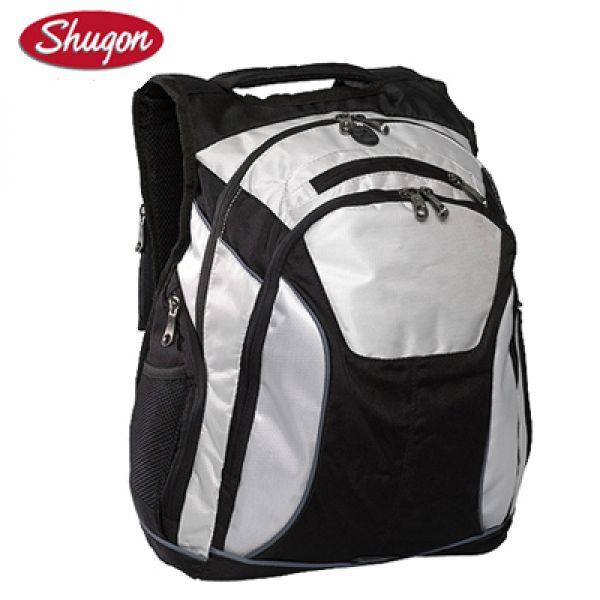 342b7be7cd7 Shugon rugzak Toronto Laptop Backpack zwart/grijs