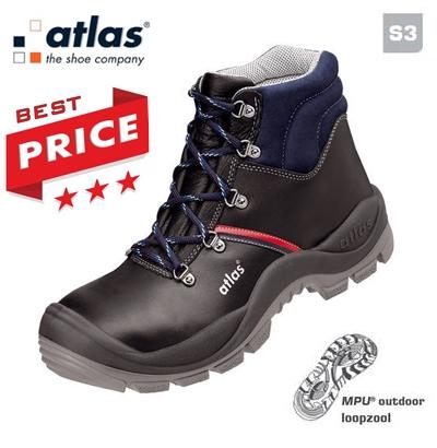 Werkschoenen Veiligheidsschoenen.Werkkleren Atlas Anatomic Bau 500 Werkschoenen