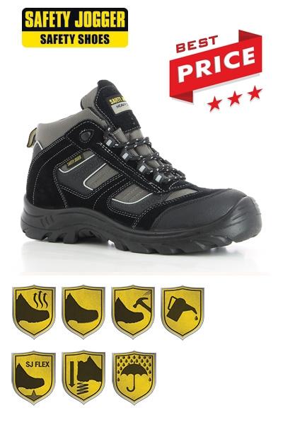 c8387f109ea Safety Jogger - Werkschoenen Climber S3 met stalen neus / stalen tussenzool
