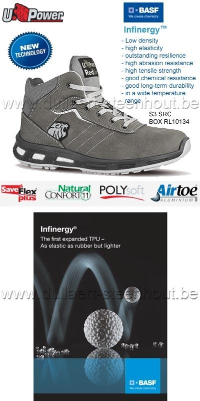 Soepele Werkschoenen.Werkkleren U Power S3 Src Werkschoenen Veiligheidsschoenen Box
